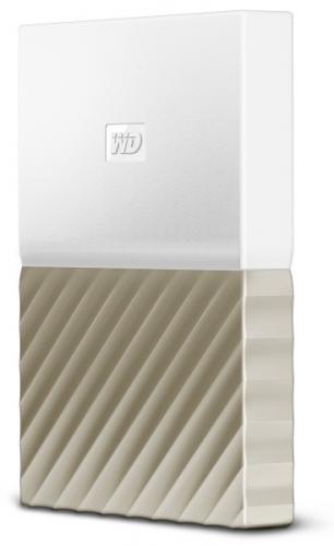 Western Digital My Passport Ultra 1TB bílý/zlatý (WDBTLG0010BGD-WESN)
