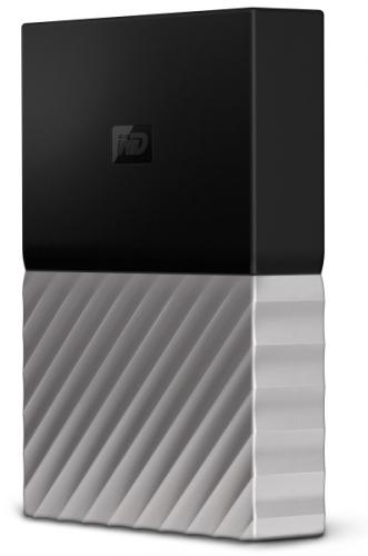 Western Digital My Passport Ultra 4TB černý/šedý (WDBFKT0040BGY-WESN)