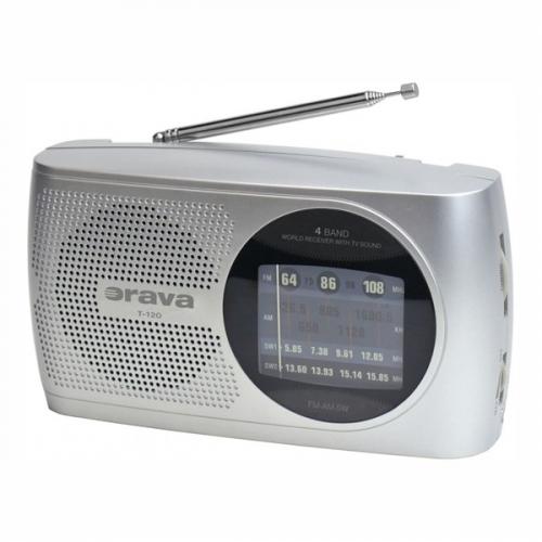 Radiopřijímač Orava T-120 šedý