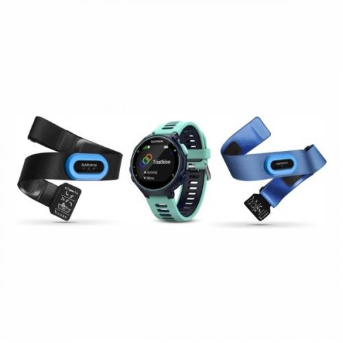 GPS hodinky Garmin Forerunner 735XT TRI Bundle modré