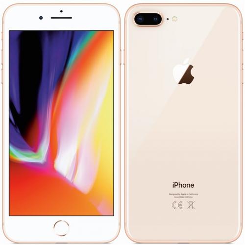 Mobilní telefon Apple iPhone 8 Plus 256 GB - Gold + dárek