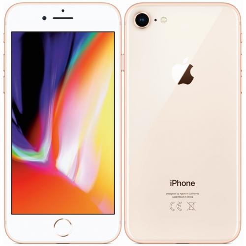 Mobilní telefon Apple iPhone 8 256 GB - Gold + dárek