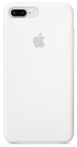 Kryt na mobil Apple Silicone Case pro iPhone 8 Plus / 7 Plus bílý