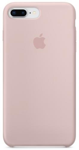 Kryt na mobil Apple Silicone Case pro iPhone 8 Plus / 7 Plus - pískově růžový