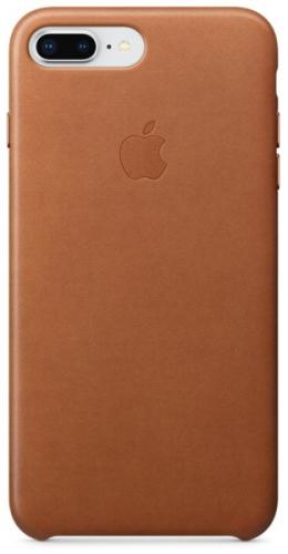 Kryt na mobil Apple Leather Case pro iPhone 8 Plus / 7 Plus - sedlově hnědý
