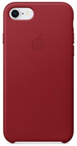 Kryt na mobil Apple Leather Case pro iPhone 8/7 PRODUCTRED červený
