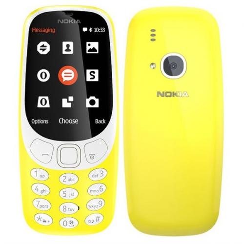 Nokia 3310 (2017) Dual SIM žlutý + dárek (A00028674)