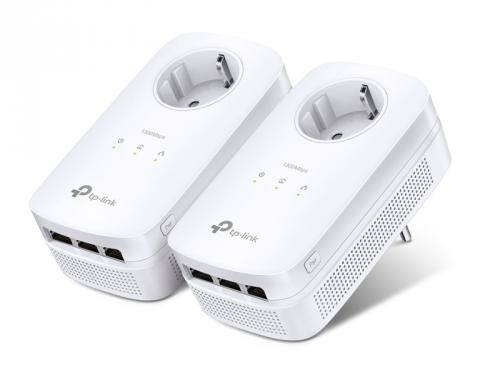 TP-Link TL-PA8030PKIT + IP TV na 3 měsíce ZDARMA bílý