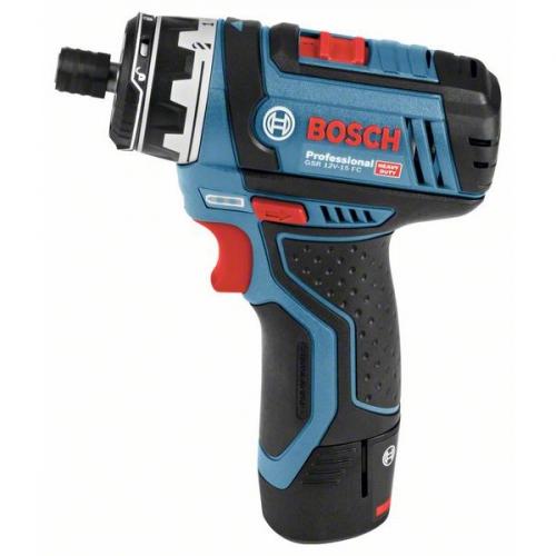Bosch GSR 12V-15 FC Set, 06019F6000