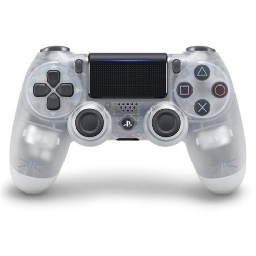Sony Dual Shock 4 pro PS4 v2 - křišťálový