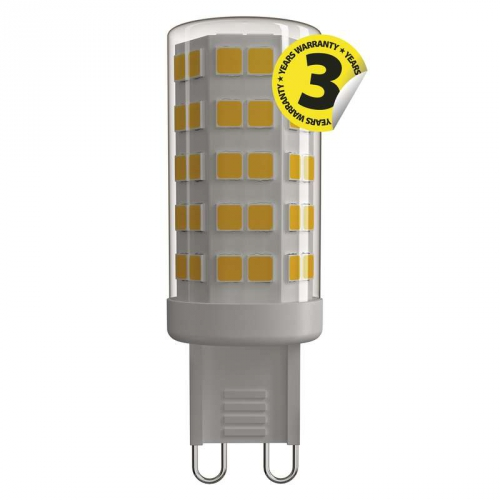Fotografie LED žárovka Classic JC A++ 3,5W G9 teplá bílá