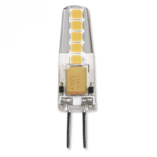 Fotografie LED žárovka Classic JC A++ 2W G4 teplá bílá