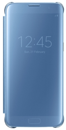 Samsung Clear View pro Galaxy S7 Edge modré