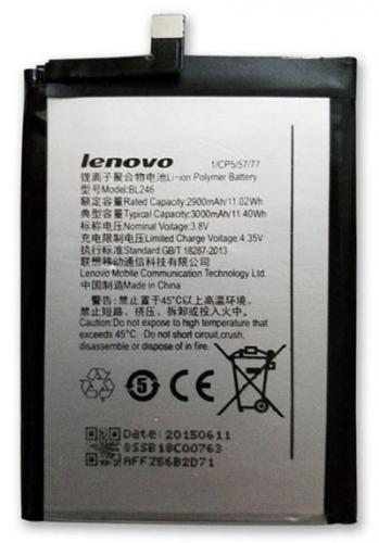 Lenovo BL246 pro Vibe Shot, Li-Pol 3000mAh - bulk stříbrná