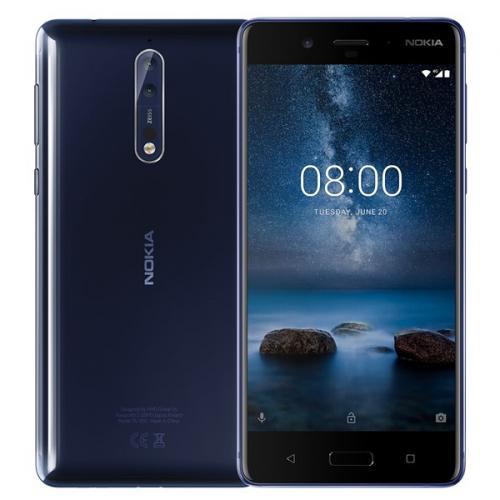 Nokia 8 Dual SIM modrý (11NB1L01A12)