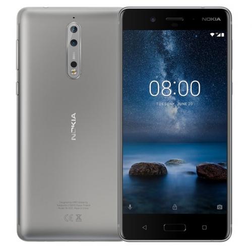 Nokia 8 Dual SIM stříbrný (11NB1S01A06)