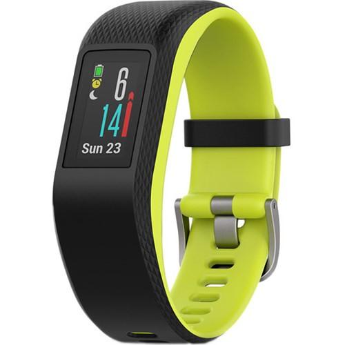 Fitness náramek Garmin vivoSport (L) černé/zelené