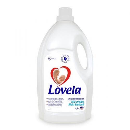 LOVELA gel bílá 4,7 L / 50 pracích dávek
