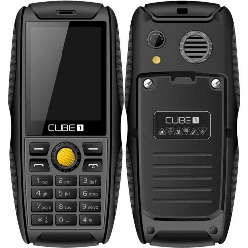 CUBE 1 S200 Dual SIM černý + dárek (MTOSCUS200050)