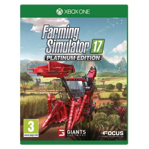 GIANTS software Xbox One Farming Simulator 17 Platinum Edition