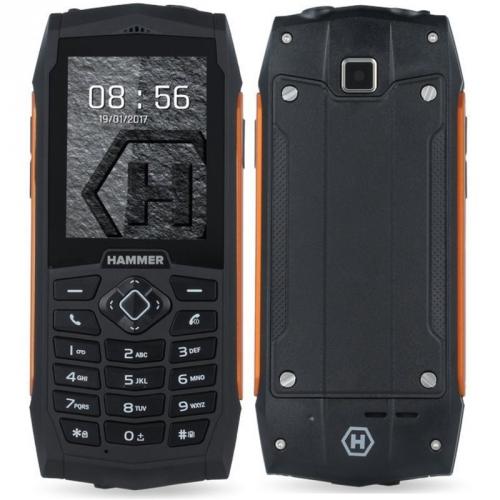 myPhone HAMMER 3 Dual SIM oranžový + dárek (TELMYHHA3OR)