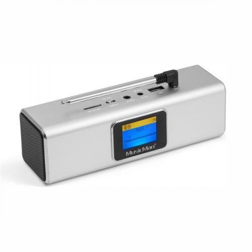 Technaxx BT-X29 a reproduktor MusicMan stříbrný