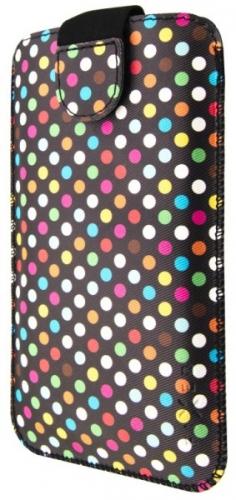 """FIXED Soft Slim Elements 4XL (vhodné pro 5"""") - rainbow dots"""