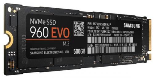 Samsung 960 EVO 500GB černý
