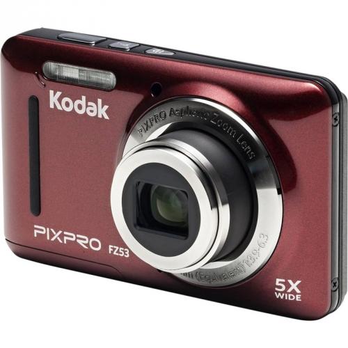 Digitální fotoaparát Kodak Friendly Zoom FZ53 červený