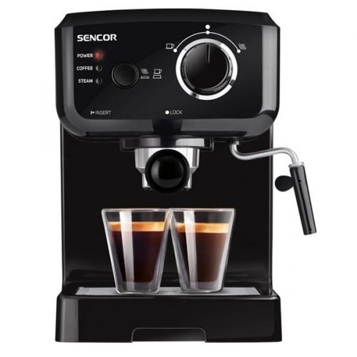 Espresso Sencor SES 1710BK černé