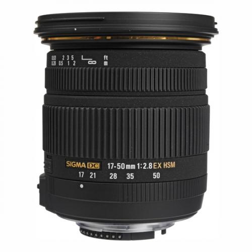 Sigma 17-50mm/2.8 EX DC OS HSM Nikon černý
