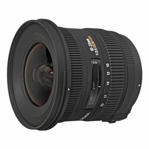 Sigma 10-20mm f/3.5 EX DC HSM Nikon černý