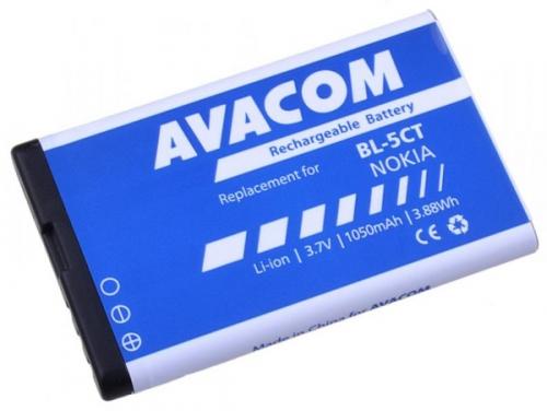 Avacom pro Nokia 6303, 6730, C5, Li-Ion 3,7V 1050mAh (náhrada BL-5CT)