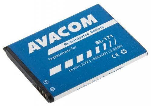 Avacom pro Lenovo A356 Li-Ion, 3,7V 1500mAh (náhrada BL171)