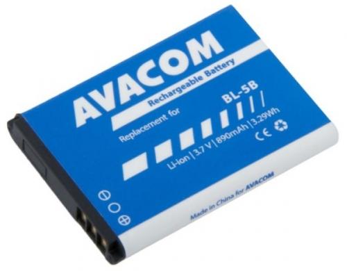 Avacom pro Nokia 3220, 6070, Li-Ion 3,7V 890mAh (náhrada BL-5B)