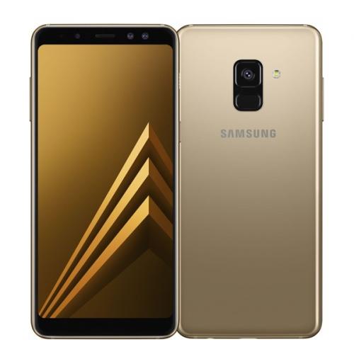 Samsung Galaxy A8 Dual SIM - Gold + dárek