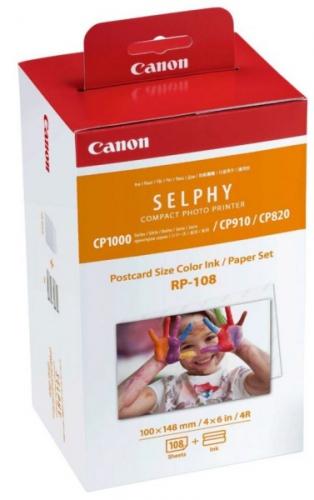 Canon RP-108 pro termosublimační tiskárny,10x15, 108 listů
