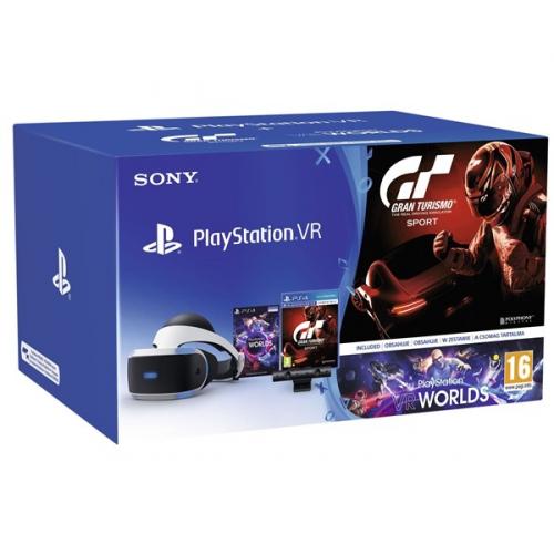 Sony + Kamera + VR WORLDS (PSN voucher) + Gran Turismo