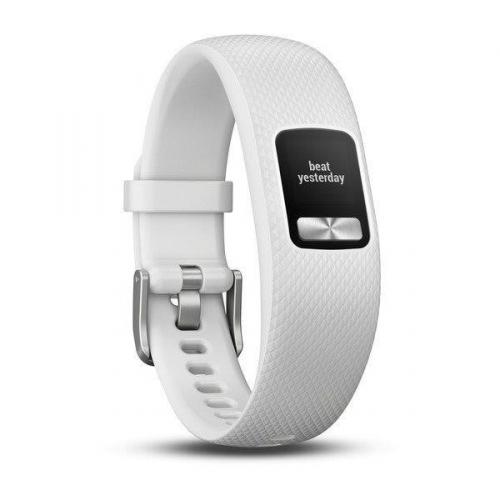 Fitness náramek Garmin vívofit4 (velikost S/M) bílý