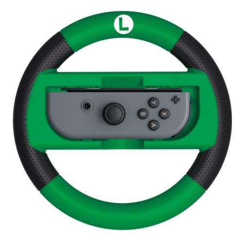 Fotografie HORI Joy-Con Wheel Deluxe (Luigi) pro Nintendo Switch