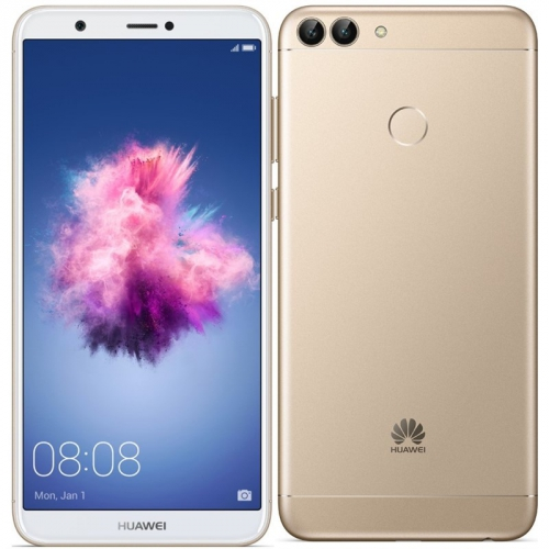 Mobilní telefon Huawei P smart Dual SIM zlatý + dárek
