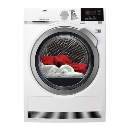 Sušička prádla AEG AbsoluteCare® T8DBG68SC bílá