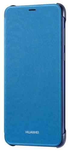 Pouzdro na mobil flipové Huawei Original Folio pro P Smart modré