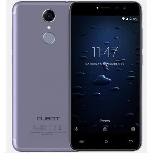CUBOT Note Plus Dual SIM modrý