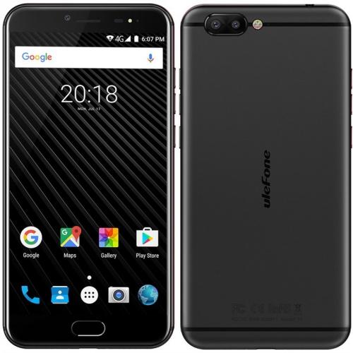 Mobilní telefon UleFone T1 Dual SIM černý + DOPRAVA ZDARMA