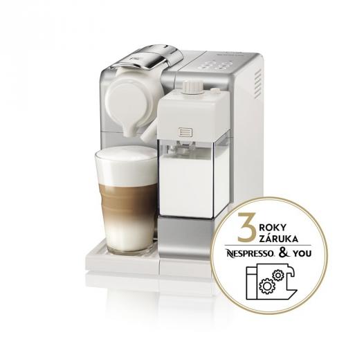 Espresso DeLonghi Nespresso Lattissima Touch EN560.S stříbrné + DOPRAVA ZDARMA