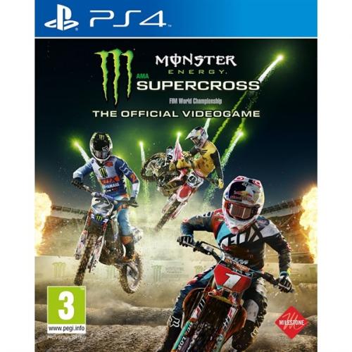 Milestone PS4 Monster Energy Supercross