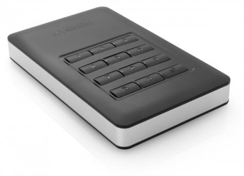 Verbatim 1TB, s numerickou klávesnicí pro šifrování