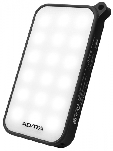 ADATA D8000L 8000mAh, outdoor LED svítilna