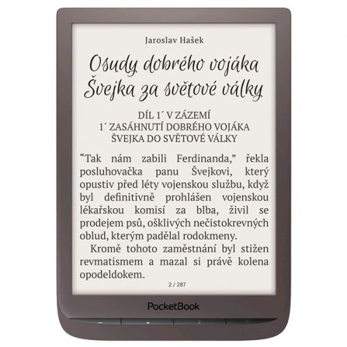 Čtečka e-knih Pocket Book 740 Inkpad3 hnědá
